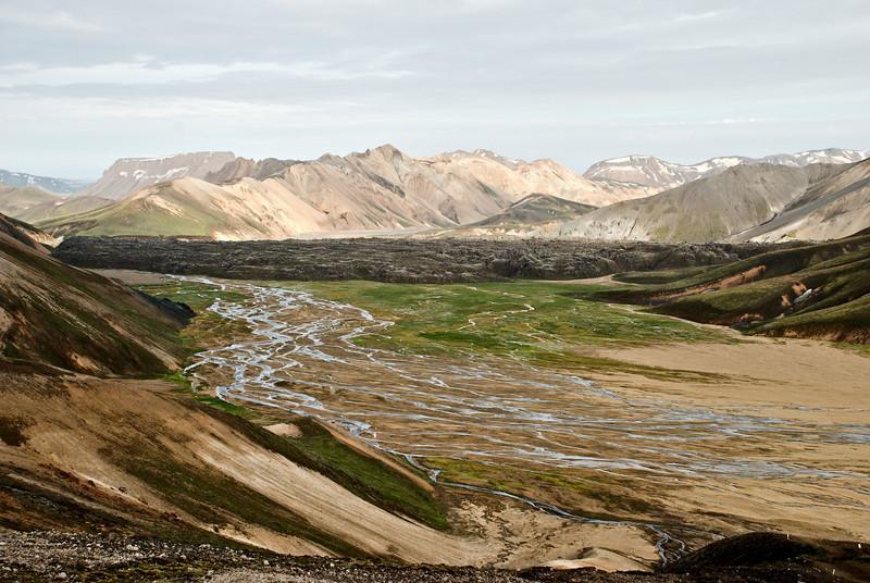 Námskvísl, Laugahraun og Norðurbarmur.