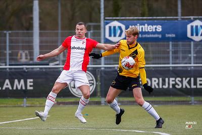 NAC JO19-1 - FC Emmen JO19-1 (15-02-2020) : uitslag 3-1