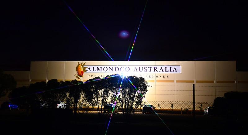 Almondco by night