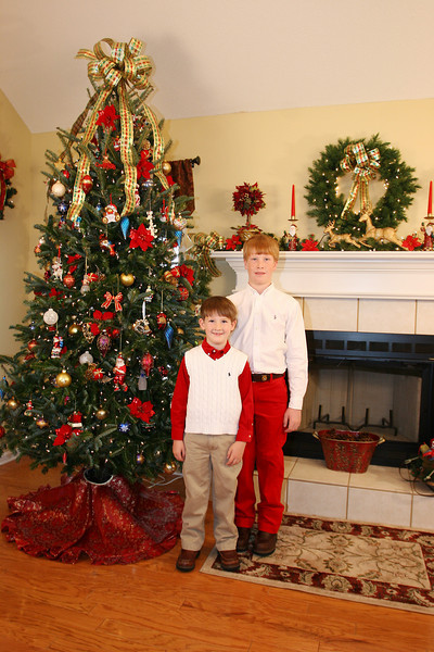 2009 Henderson Christmas photos