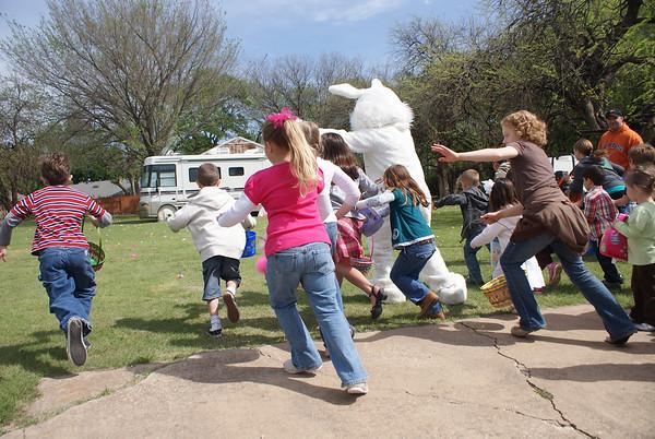 Big Springs Easter Egg Hunt 2009