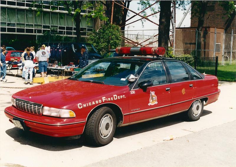 Fire Academy Car A-330 1991 Chevrolet Caprice X-Batt 5