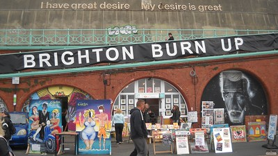 Brighton Burn Up, 4 Sep 2016