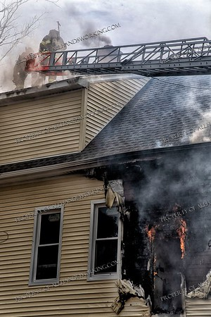 2nd alarm, 25-27 Sheffield St., New Haven, CT 08/17/21