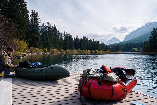 2016.10.05 Banff Bow River Paddling