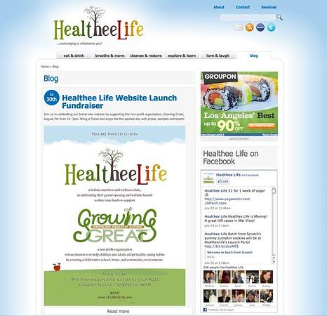 HealtheeLife.com Launch Party
