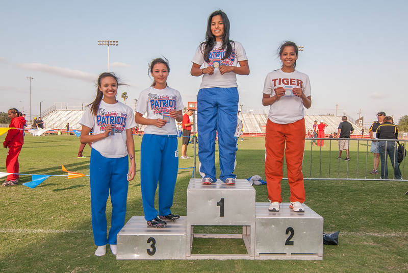 April 13, 2013 - Track and Field - 32-4A District Meet