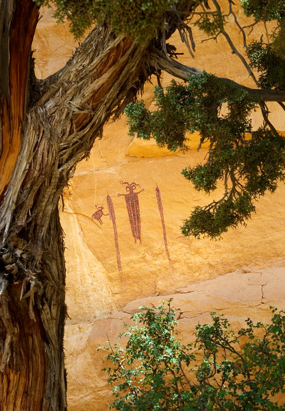 Pictograph, Head of Sinbad, Utah, USA