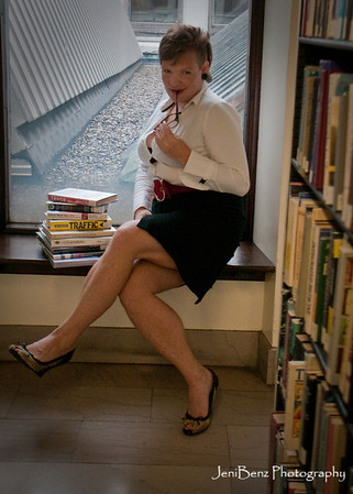Rebecca Pin Up Library Session