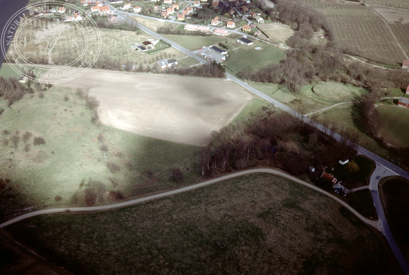 Vitaby [Grevlunda] landscape (Pengakillan) west motte [Borgvallen] (2 April, 1989). | LH.0426