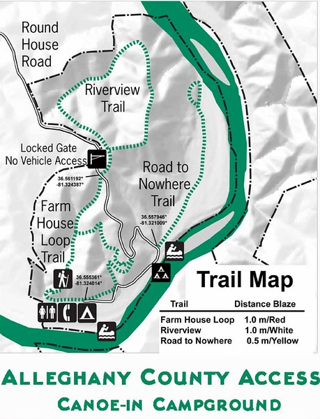 New River State Park (Alleghany County Trails)