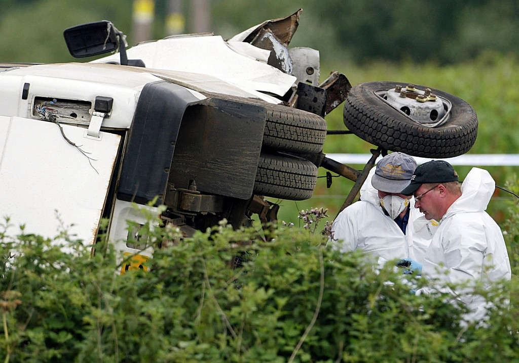 ". <p><b> A shocking new study finds that, over the past decade, the number of fatal car accidents involving these people has tripled � </b> <p> A. Idiots using marijuana while driving <p> B. Idiots using alcohol while driving <p> C. Idiots using Twitter and Facebook while driving <p><b><a href=\'http://www.webmd.com/mental-health/news/20140204/fatal-car-crashes-involving-pot-use-have-tripled-in-us-study-finds\' target=""_blank\"">HUH?</a></b> <p>     (Odd Anderson/AFP/Getty Images)"