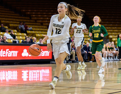 PAC12 - Women's Basketball  - CU vs North Dakota State - 20171129