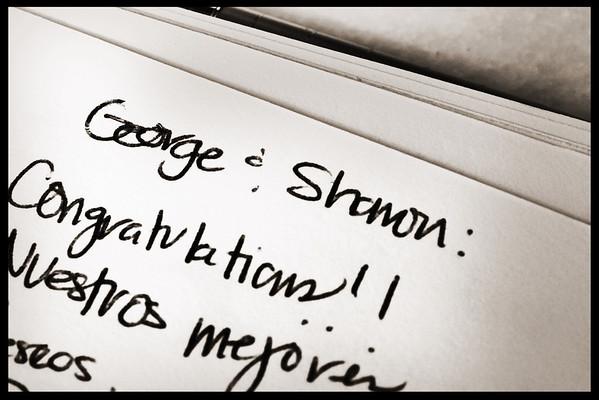 George and Sharon