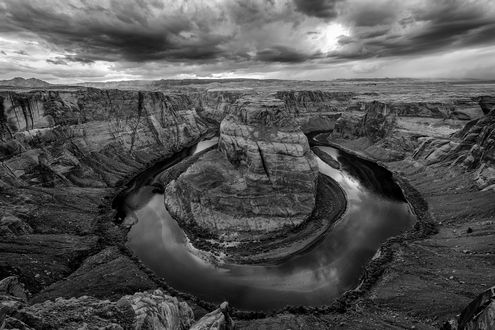 Horseshoe Bend Storm