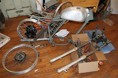 My Vintage Bitsa Motocrosser