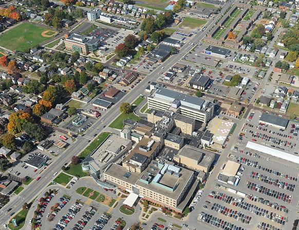 Various Dates - Aerial Campus Photos