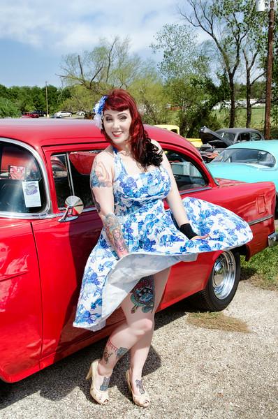 Model: Veronica Virgo   Hair: Joli Fine - Wimberley, Texas   Hair Flower: Hellcat Hardwear, Austin, TX