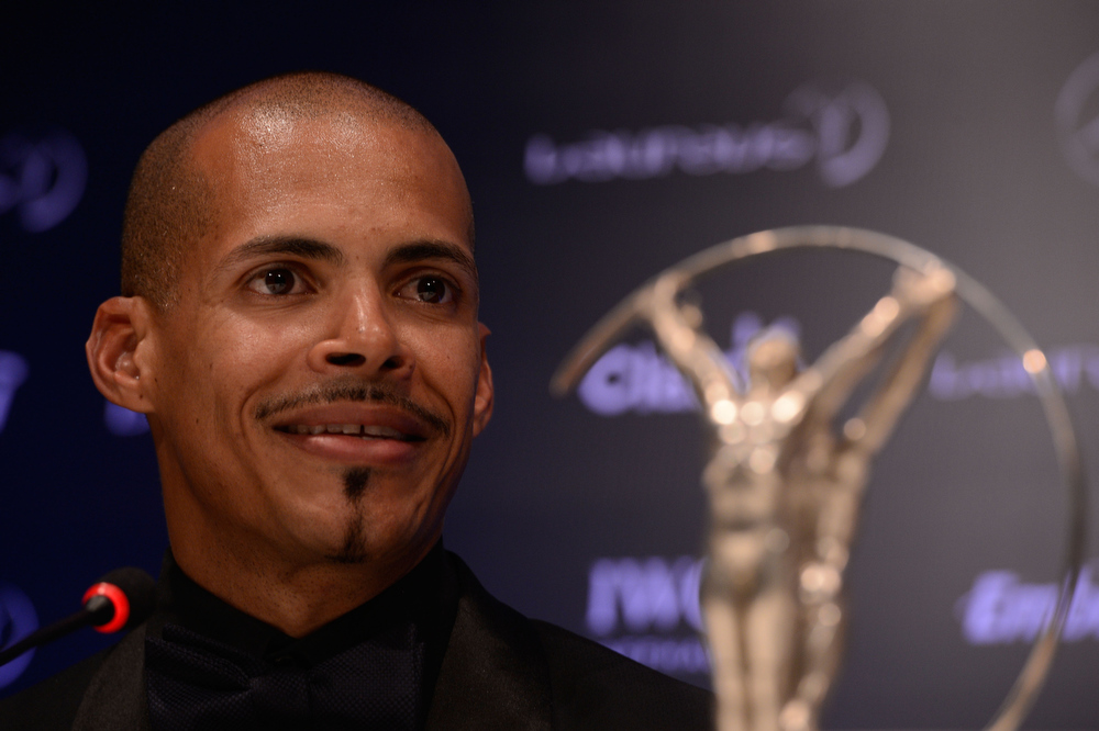 . Felix Sanchez attends the Winners Press Conferences & Photocall at the Theatro Municipal Do Rio de Janeiro during the 2013 Laureus World Sports Awards on March 11, 2013 in Rio de Janeiro, Brazil.  (Photo by Buda Mendes/Getty Images For Laureus)