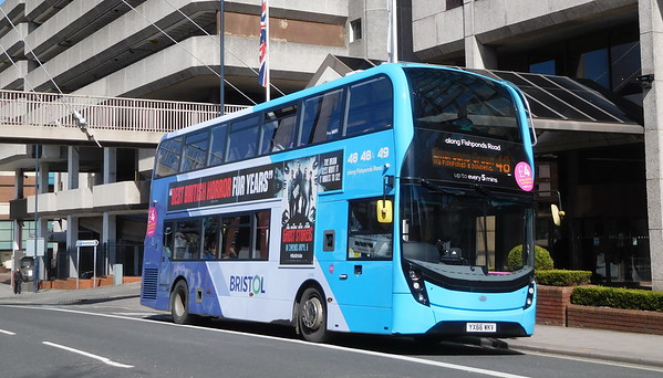 ADL Enviro40D - Bristol city routes