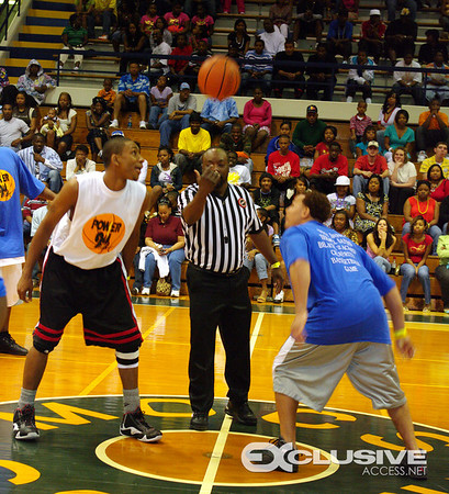 TONY BROWN's of THE TENNESSEE TITANS & FRIENDS ANNUAL CELEBRITY BASKETBALL GAME BELIVE 2 ACHIVE (CHATTANOOGA, TN)