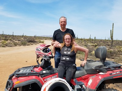 4-10-18 noon ATV tour Dustin