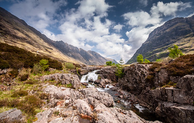 Waterfalls on the River Coe