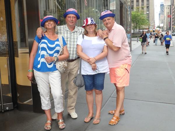 Family weekend in Manhattan Aug 6, 2016