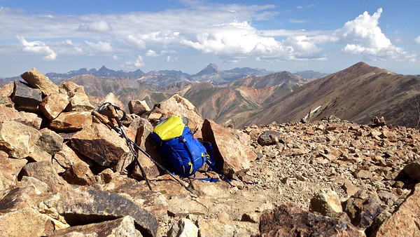 Redcloud Peak 14,034 feet Sunshine Peak 14,001 feet Combo