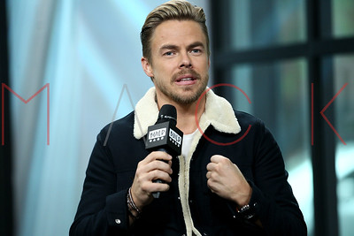 NEW YORK, NY - NOVEMBER 01:  Build presents Derek Hough discussing The Movember Foundation at Build Studio.