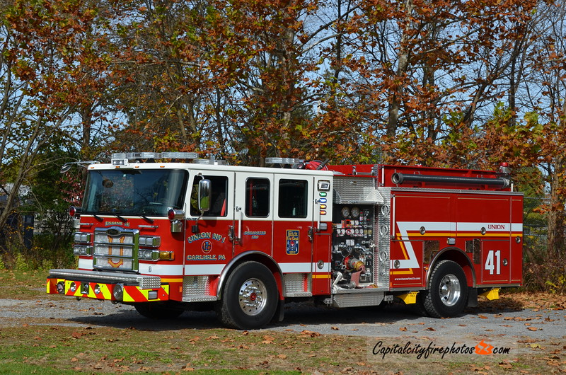 Carlisle (Union Fire Co.) Engine 1-41: 2016 Pierce Enforcer 1500/750/30A