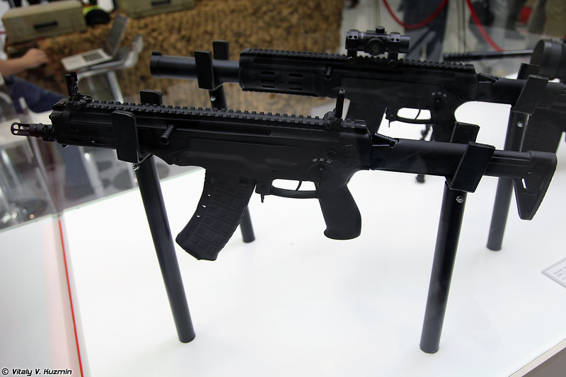 Малогабаритный автомат АМ-17 (AM-17 compact assault rifle)