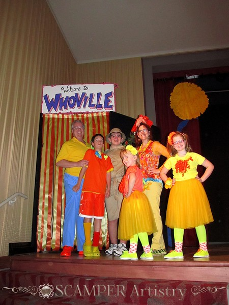 """""""Seussical the Musical"""" presented by Waterville Playshop"""