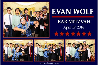 Bar Mitzvah Photo Booth Prints