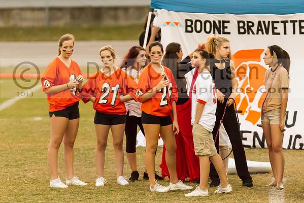 Boone High School Homecoming week Braves Brawl  - 2013