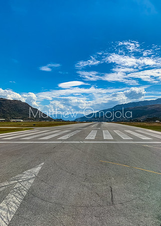 Queenstown Airport NZ and Aerial views Australia and New Zealand