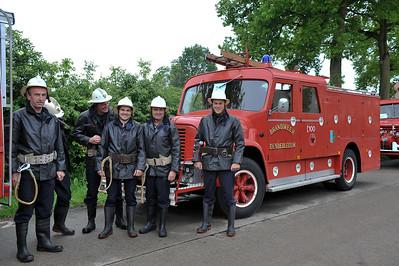 175 jaar brandweer 2010 - Opstelling stoet