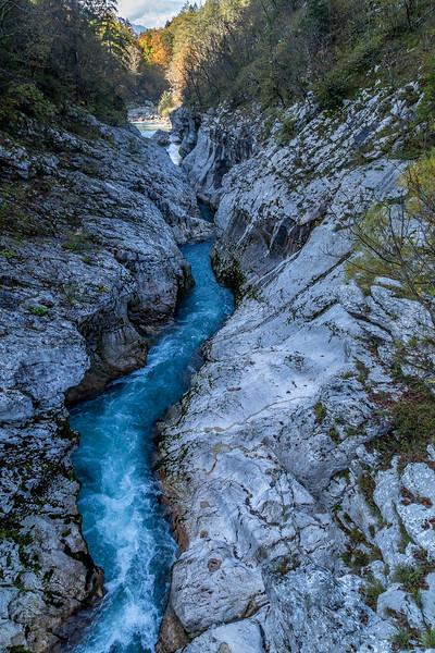 Unterwegs im slowenischen Soca-Tal