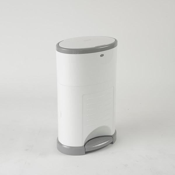 Korbell_Nappy_Bin_Product_Shot_Plus_26L_Pure_White_Side_Angle_Grey_Background.jpg