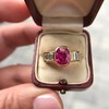 3.21ctw Burma N-Heat Ruby Ring, by Mellerio 8