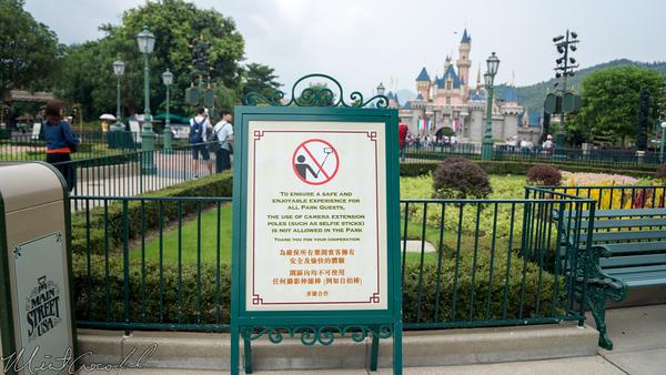 Disneyland Resort, Hong Kong Disneyland, Main Street USA, Fantasyland, Hub, Selfie, Selfie Sticks, Sticks
