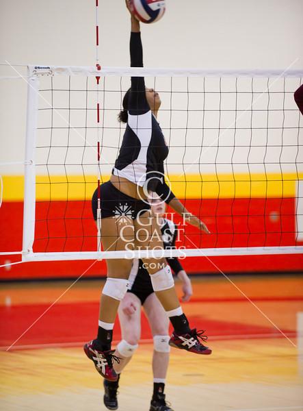 2011-10-13 Volleyball Girls NAIA Huston-Tillotson @ University of St. Thomas