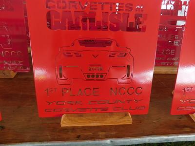 2018 - Corvettes at Carlisle -  NCCC WINNERS