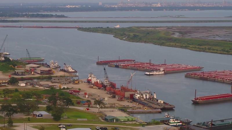 Aerial video La Porte Texas