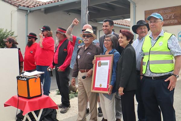 Clampers at San Juan Bautista 150 Anniversary