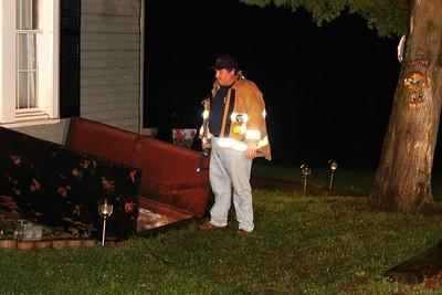 Fire Response, Kettle Road, Walker Township (9-27-2011)