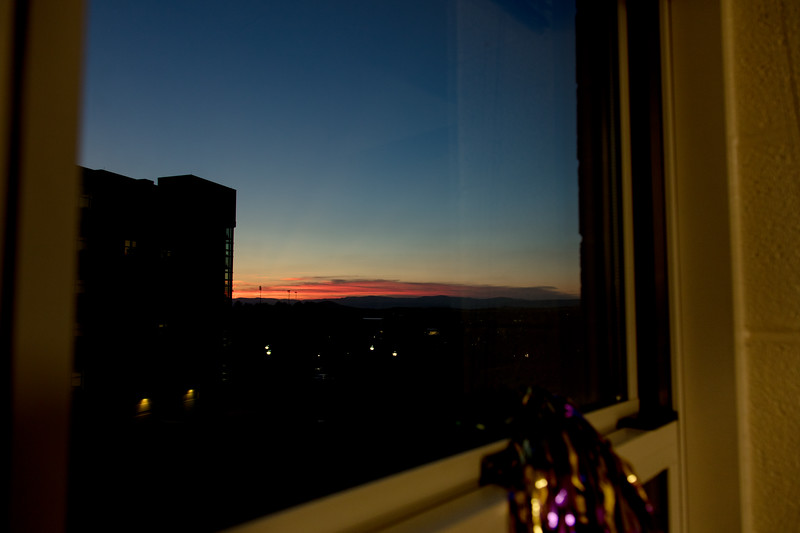 Sunset View from my Dorm