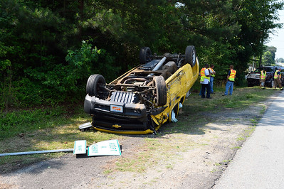 NC DOT Truck Accident, June 10, 2015