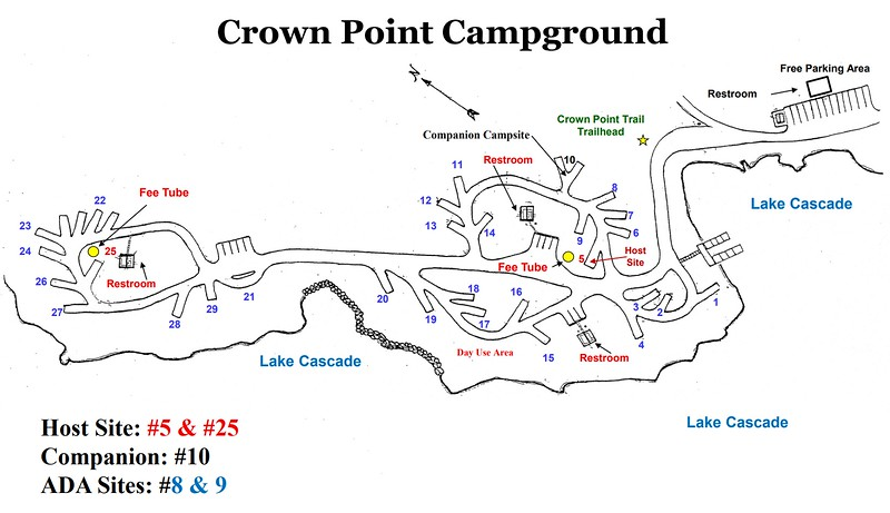 Lake Cascade State Park (Crown Point Campground)