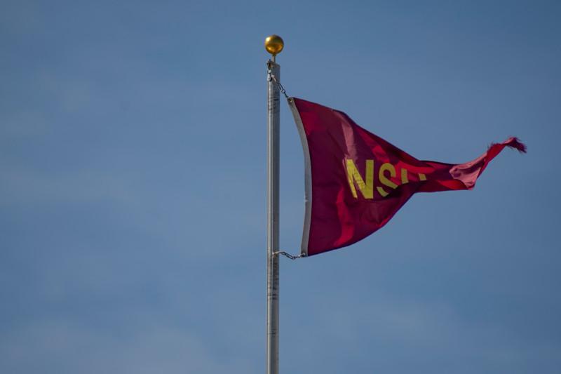 NSU football flag